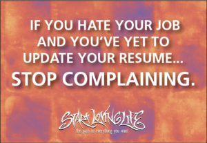 If you hate your job…